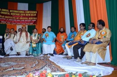 PhD and Mahamahopadhyay Award to Dr Pavitranandaji on 7 March in New Delhi (4).jpg