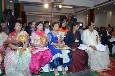 PhD and Mahamahopadhyay Award to Dr Pavitranandaji on 7 March in New Delhi (36).jpg